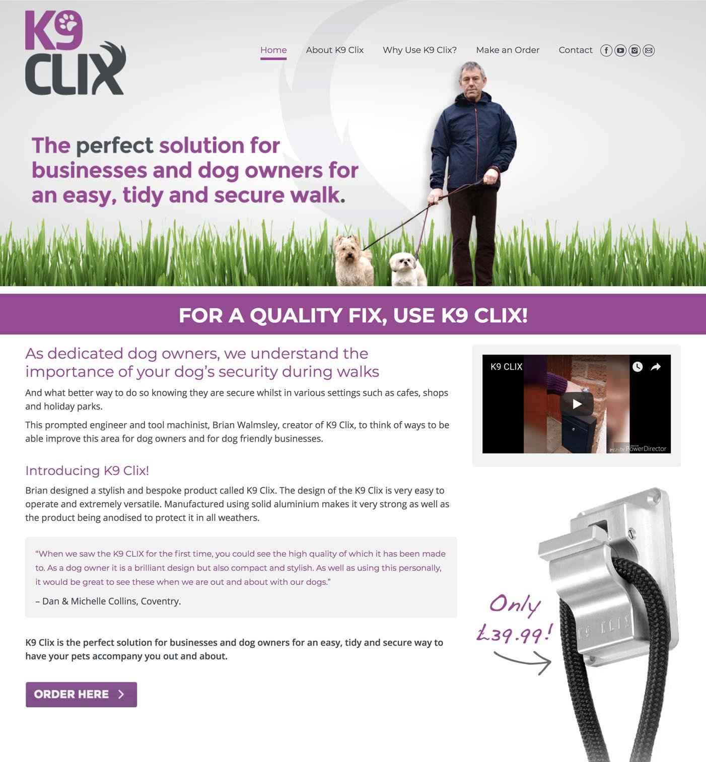 K9-clix-website